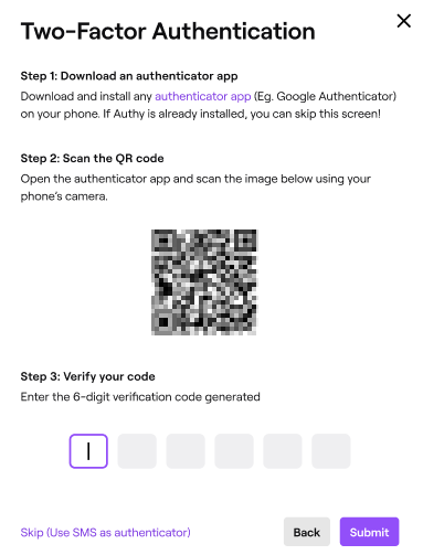 Setting Up Two Factor Authentication 2fa