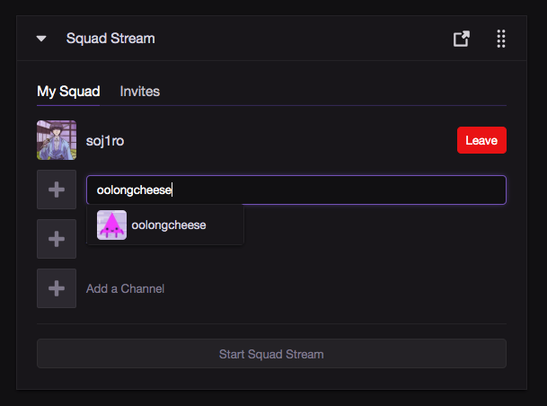 How to Use Squad Stream