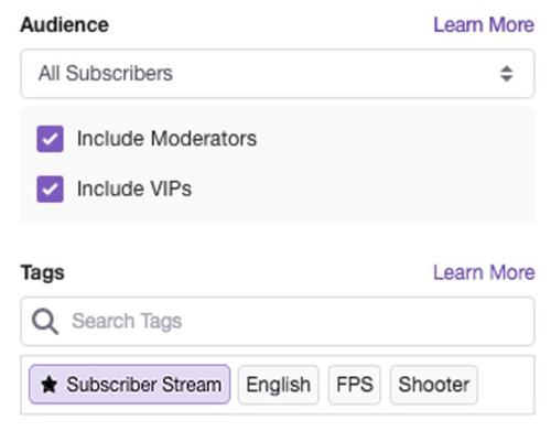 <b>Best</b> Practices for Subscriber <b>Streams</b>