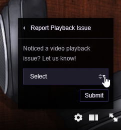 How to File a Video Playback Issue