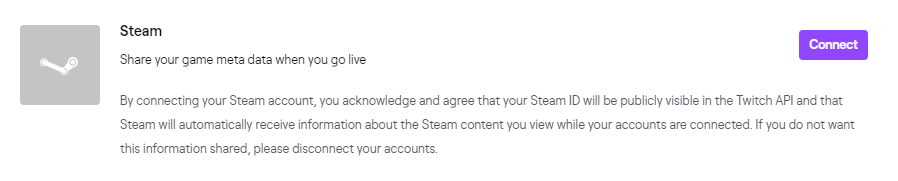 Twitch Account Settings