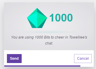 cant get free bits twitch