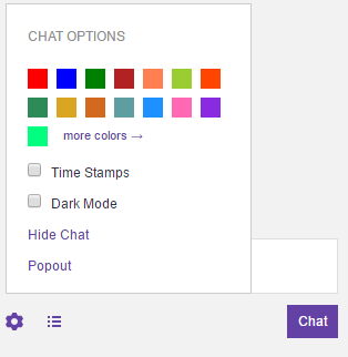 How to change your twitch name color on mobile