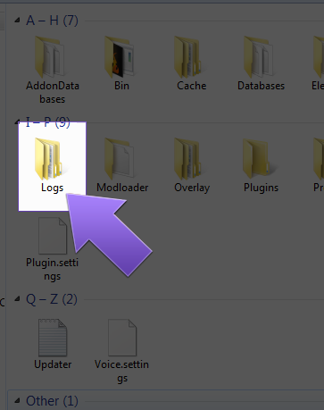 how to get to minecraft folder