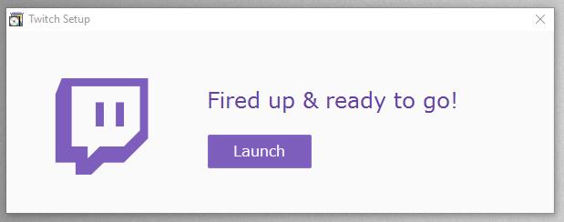 how to delete twitch app