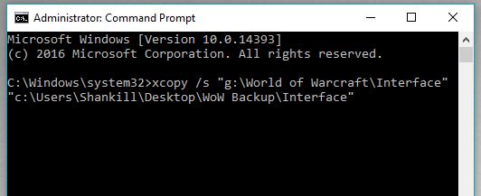 Manually Backup Addons and Settings [WoW]