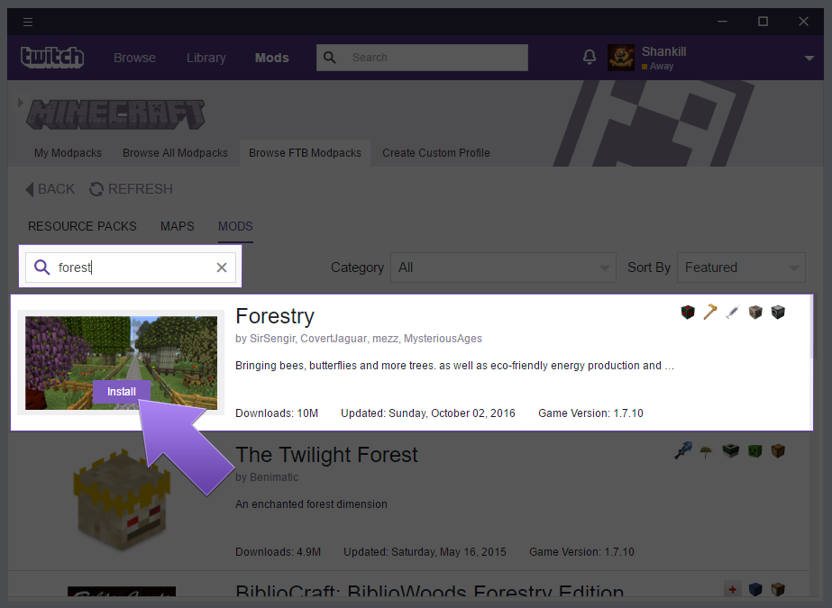 How to Play Minecraft with Twitch App
