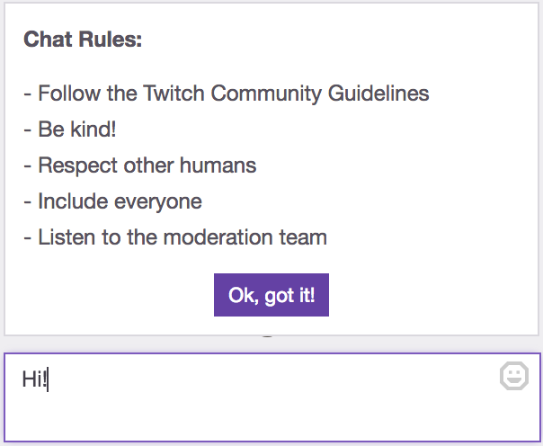 Setting Up Moderation for your Twitch Channel