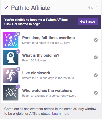 Image result for twitch partners affiliates